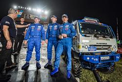 #501 Team Kamaz Master: Ayrat Mardeev, Aydar Belyaev, Dmitry Svistunov