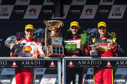 Podium: 1. Shane van Gisbergen, Triple Eight Race Engineering, Holden; 2. Scott McLaughlin, Team Pen