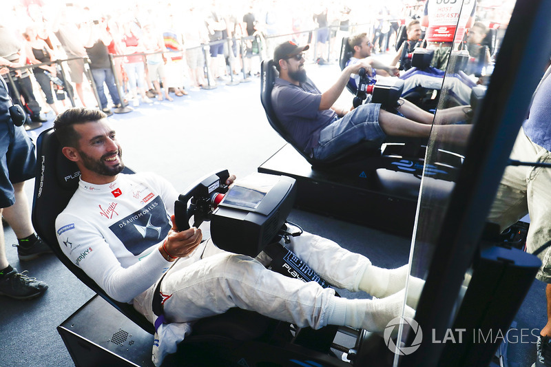 Jose Maria Lopez, DS Virgin Racing, at the eRace