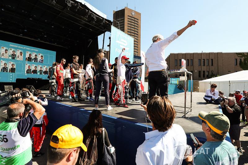 Felix Rosenqvist, Mahindra Racing, en la lotería de la calificación