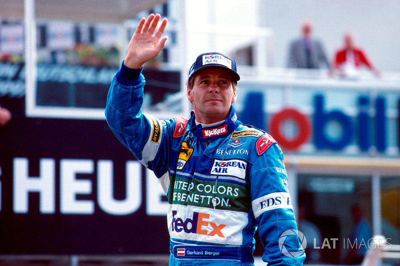 А в гонке на «Хоккенхаймринге» 1997 года Герхард Бергер выиграл последний Гран При как в своей карьере, так и в истории команды Benetton