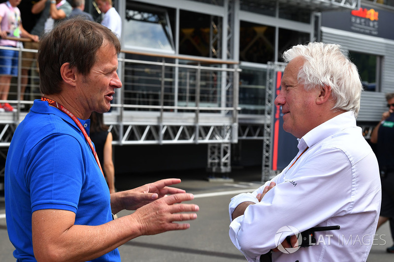 Michael Schmidt, Charlie Whiting, FIA Delegate