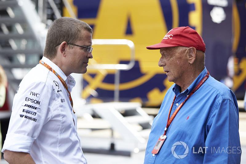 Неисполнительный директор Mercedes AMG F1 Ники Лауда