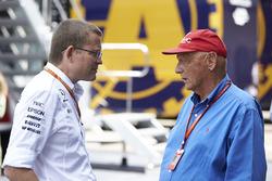 Невиконавчий директор Mercedes AMG F1 Нікі Лауда