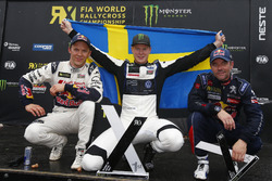 Подіум: Йохан Крістофферссон, PSRX Volkswagen Sweden, VW Polo GTi, друге місце Маттіас Екстрьом, EKS