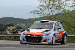 Corrado Fontana e Nicola Arena, Hyundai I20 WRC, Bluthunder Racing Italy