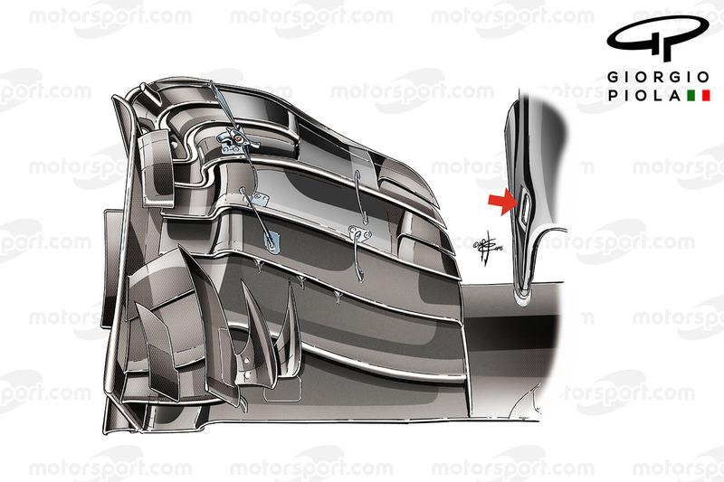 McLaren MP4/31 ala anteriore, GP dell'Ungheria