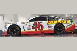Michael Annett, HScott Motorsports Chevrolet esquema especial retro