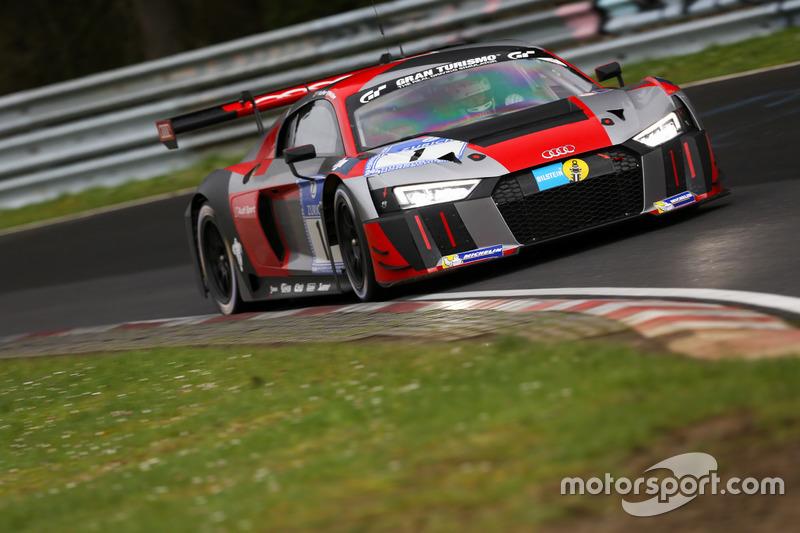 #1 Audi Sport Team WRT Audi R8 LMS: Laurens Vanthoor, Christopher Mies, Nico Müller, Pierre Kaffer