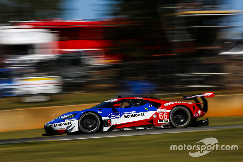 #66 Ford Performance Chip Ganassi Racing, Ford GT: Joey Hand, Dirk Müller, Sébastien Bourdais