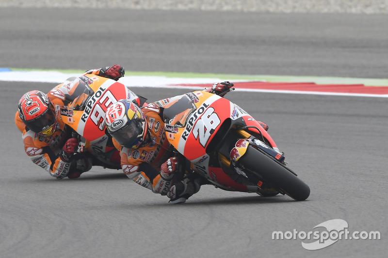 Dani Pedrosa, Repsol Honda Team ve Marc Marquez, Repsol Honda Team