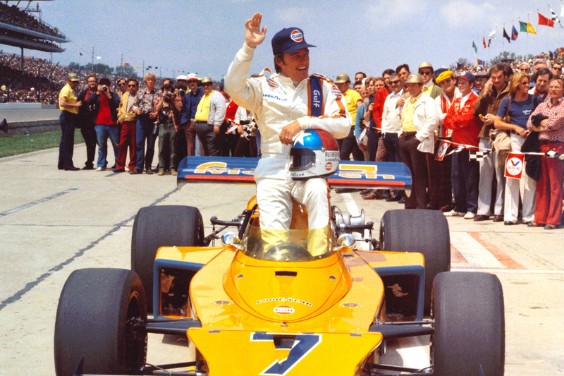 1974: Johnny Rutherford op zondag