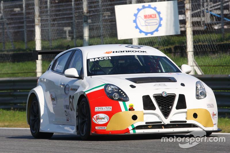 Andrea Bacci, Alfa Romeo Giulietta QV-TCT