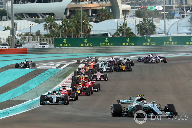 Valtteri Bottas, Mercedes-Benz F1 W08 líder