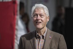 Former United States President Bill Clinton