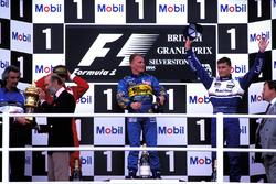 Podium: 1. Johnny Herbert, Benetton; 2. Jean Alesi, Ferrari; 3. David Coulthard, Williams