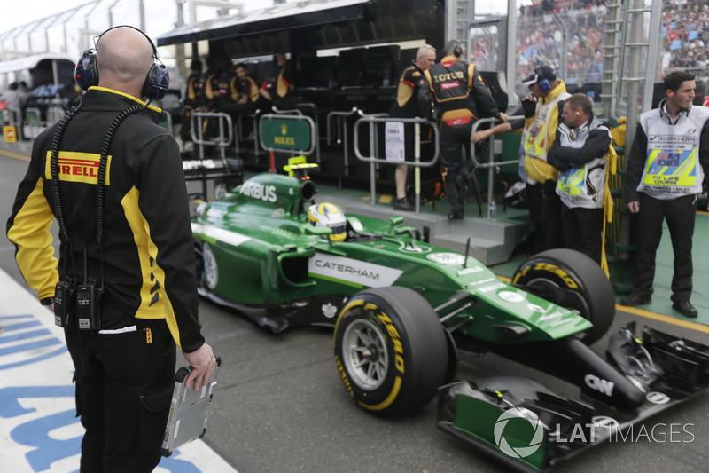Маркус Эрикссон – Гран При Австралии, 2014 год – сход с дистанции