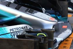 Mercedes-Benz F1 W08: Frontpartie
