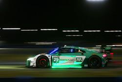 #29 Montaplast by Land-Motorsport Audi R8 LMS GT3: Christopher Mies, Sheldon van der Linde, Jeffrey Schmidt, Kelvin van der Linde