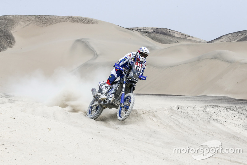 Ксавье де Сультрэ, Yamalube Yamaha Official Rally Team, Yamaha WR450F Rally