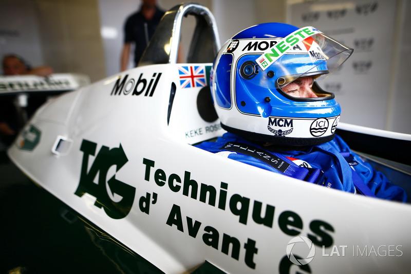 Persiapan eks kampiun F1, Keke Rosberg dan Nico Rosberg