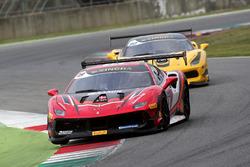 #19 Baron Service Ferrari 488: Per Nielsen