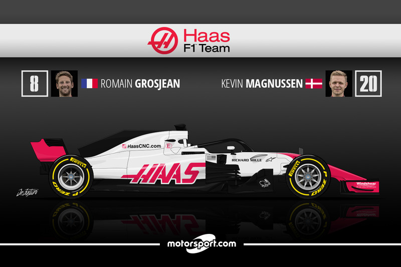 Romain Grosjean 12 Kevin Magnussen 9