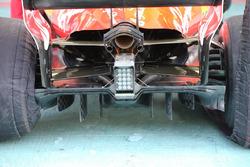 Ferrari SF70H, diffusore del GP di AbuDhabi