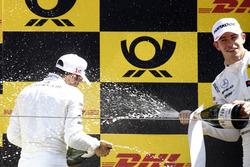 Podium: Gary Paffett, Mercedes-AMG Team HWA, Paul Di Resta, Mercedes-AMG Team HWA