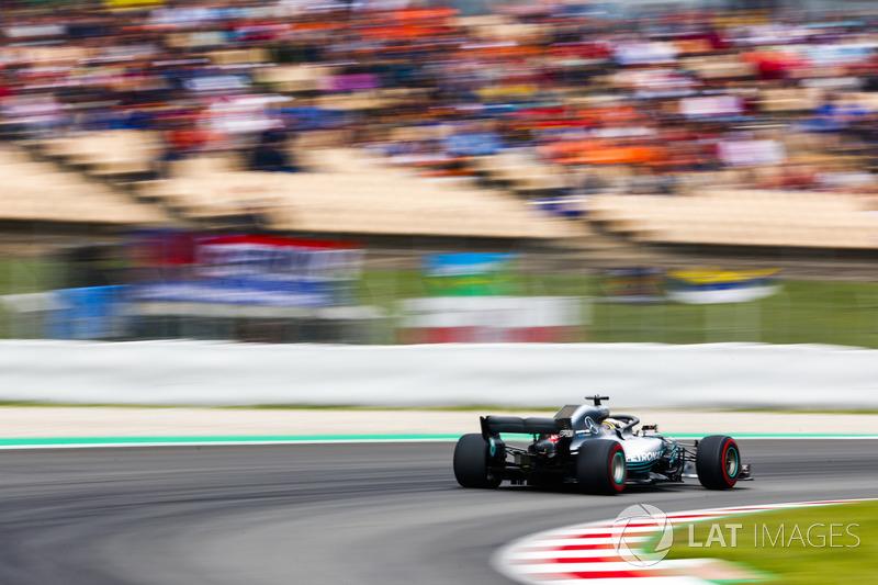 GP de España: Hamilton vence a Bottas por 40 milésimas