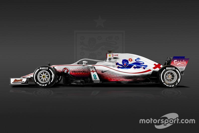 Formula 1 Dünya Kupası tasarımları - İngiltere