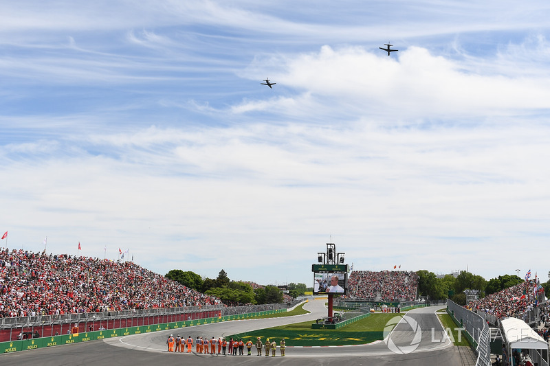 Hairpin and flypast