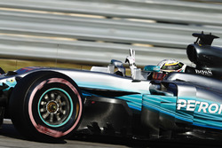 Pole: Lewis Hamilton, Mercedes AMG F1