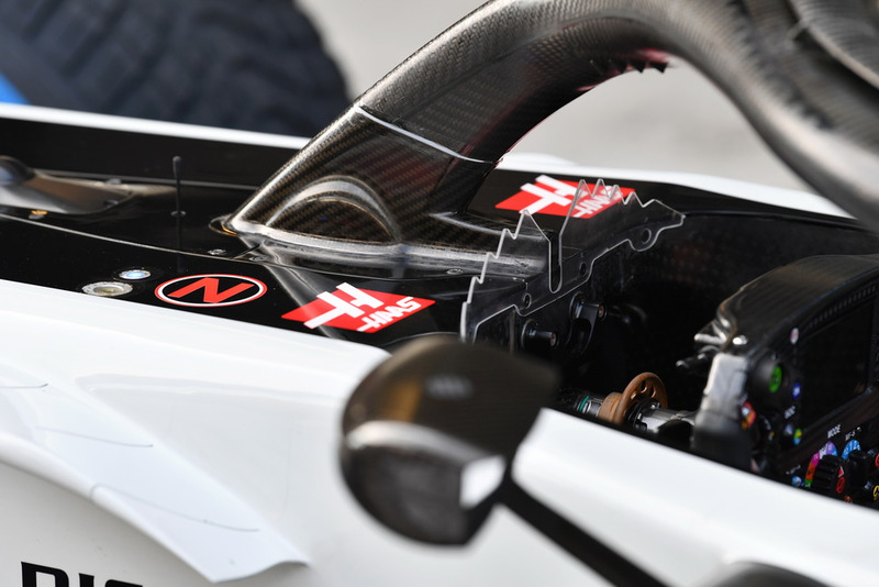 Halo Haas F1 Team VF-18