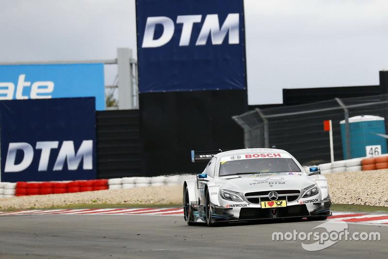 Мік Шумахер та машина Mercedes-AMG C63 DTM
