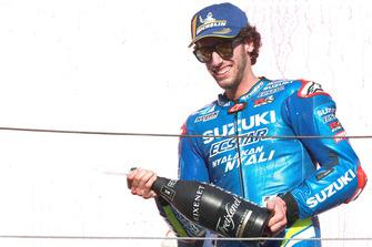 Podium: third place Alex Rins, Team Suzuki MotoGP