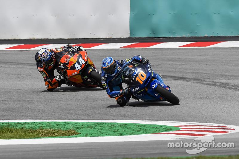 Miguel Oliveira, Red Bull KTM Ajo, Luca Marini, Sky Racing Team VR46