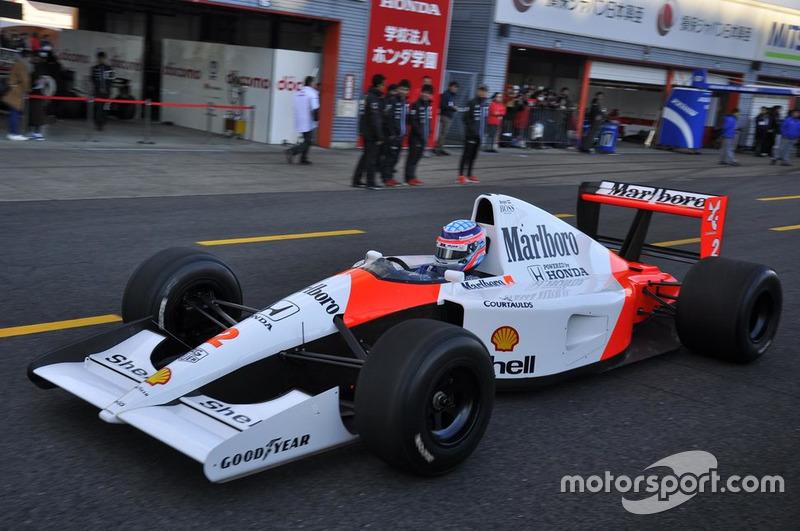 McLaren-Honda MP4/6 conducido por Takuma Sato