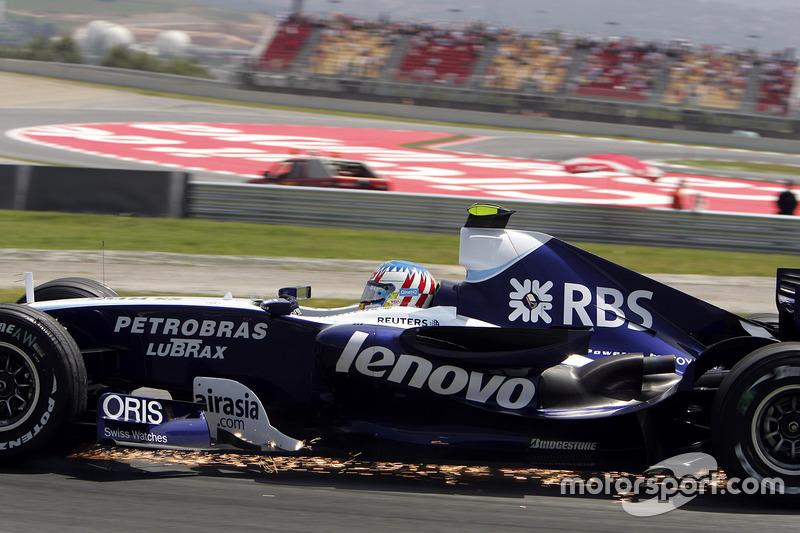 Alexander Wurz, Williams FW29 Toyota