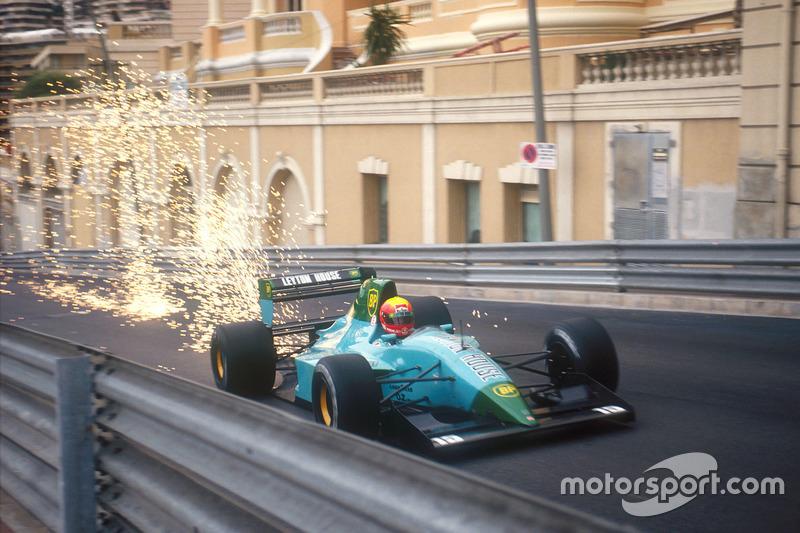 F1, Monte Carlo 1991: Mauricio Gugelmin, Leyton House CG911