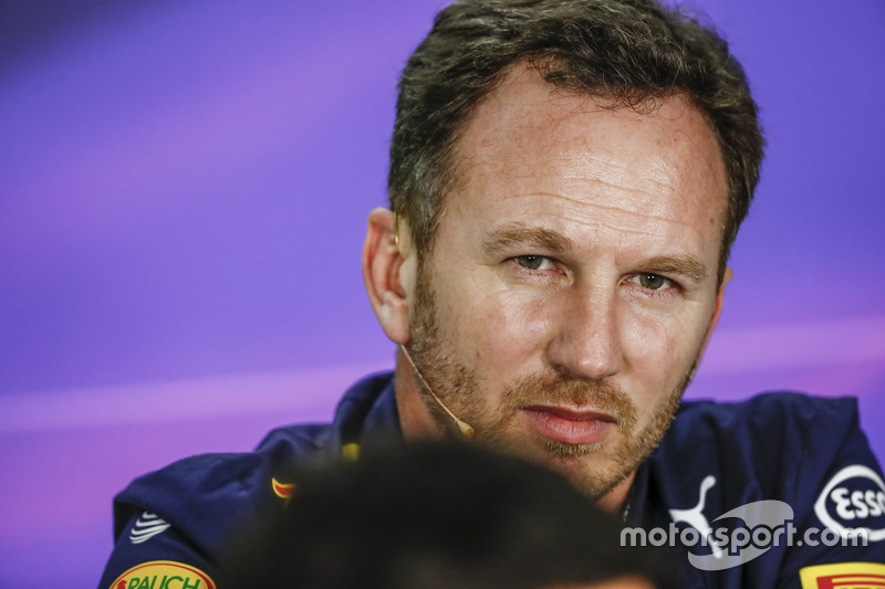 Pressekonferenz: Christian Horner, Red Bull Racing