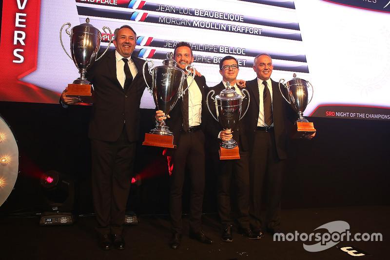 2016 Sprint Cup Pro-AM Cup equipos, Giacomo Piccini, campeón, Jean-Luc Beaubelique, segundo lugar, Jean-Philippe Belloc, Christophe Bourret, tercer lugar