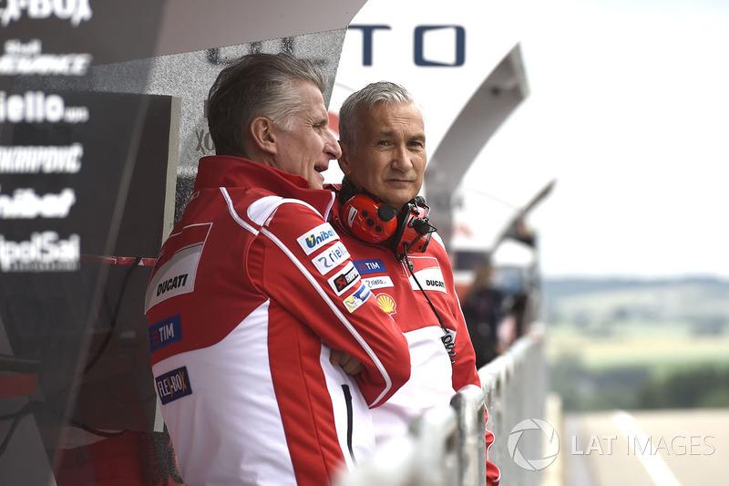 Davide Tardozzi, director de Ducati Team