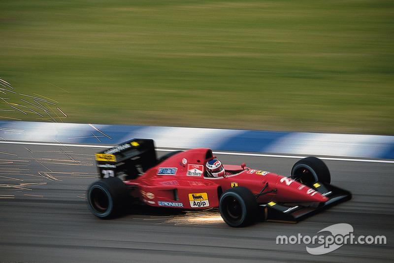 1992: Ferrari F92AT (один подиум, 4-е место в КК)