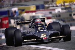 Mario Andretti in the new Lotus 79