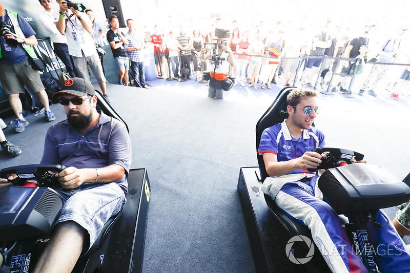 Antonio Felix da Costa, Amlin Andretti Formula E Team, en la eRace