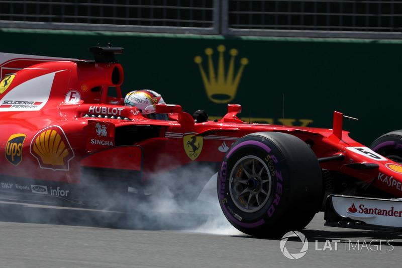 7. GP de Canadá 2017: Sebastian Vettel (4º)