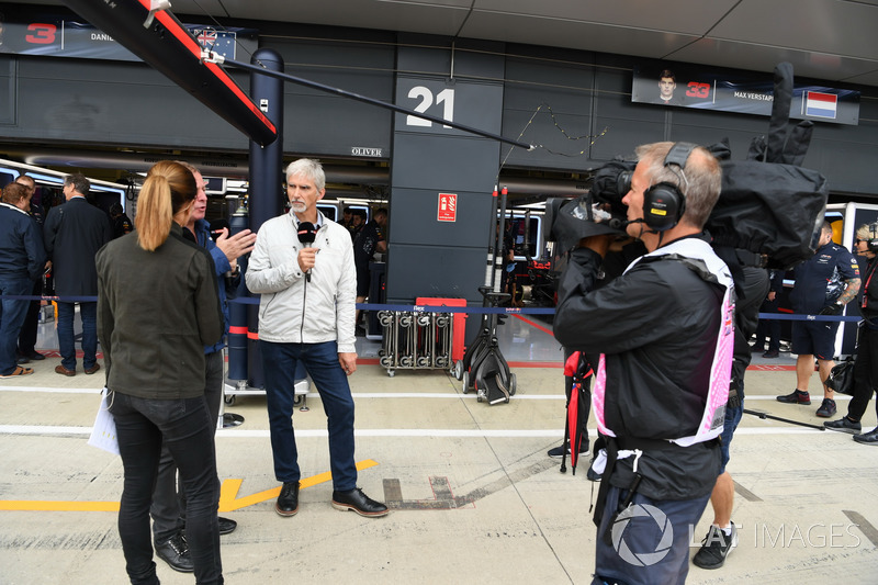Sky Sports F1: Natalie Pinkham, Martin Brundle, Damon Hill