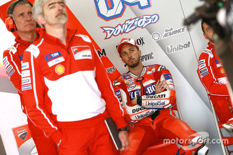 Gigi Dall'Igna, Ducati Team General Manager Andrea Dovizioso, Ducati Team