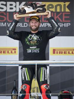 Tom Sykes, Kawasaki Racing, ganador Jerez, 2013